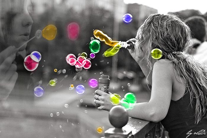 puziriki7 Как осуществить детскую мечту – сделать в домашних условиях мыльные пузыри